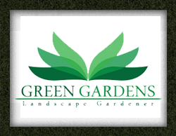 LNPServices - Logo Design - Green Gardens