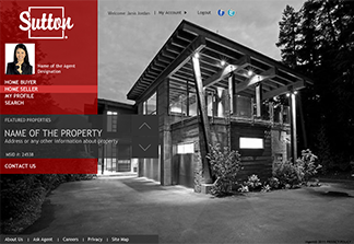 LNP Services Web Design - Real Estate Portal